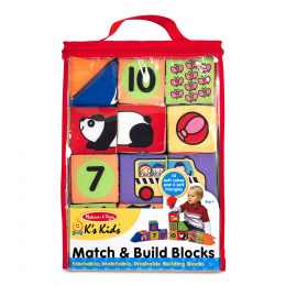Match and Build - Soft Play Building Blocks