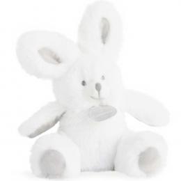 Doudou et Compagnie - Rabbit Rattle Toy - Grey