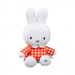 Miffy Fashion Supersoft Toy - Orange Gingham