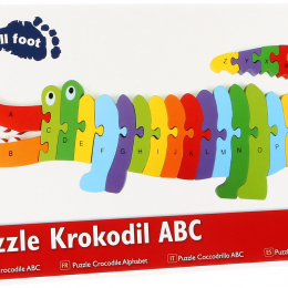 Wooden Crocodile - Alphabet Puzzle